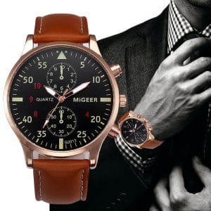 Male Business Clock Quartz Watch
